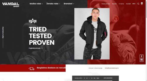 Marker: Vandal web shop