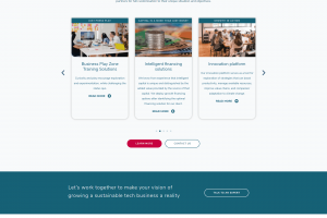 intech-ventures web